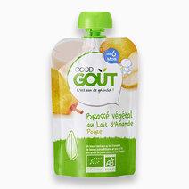 Almond milk and Pear Non-Dairy Yogurt (90g) by Good Goût