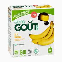 Banana (4x85g) by Good Goût