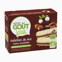 KIDZ Rice Cakes with Chocolate and Hazelnuts (120g) by Good Goût