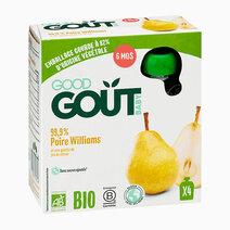 Williams Pear (4x85g) by Good Goût