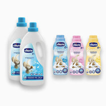 Laundry Detergent Liquid 1.5L + Sweet Talcum Softener (750ml) (Buy 2, Take 1) by Chicco
