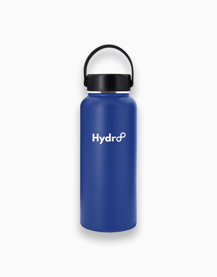 Hydr8 32 oz. (946 ml) Wide Mouth Insulated Stainless Steel Water Bottle Tumbler by Hydr8   Royal Blue
