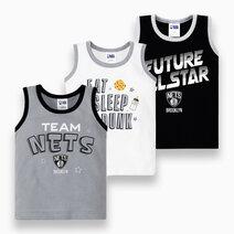 NBA Baby - 3-Piece Sando (Future All Star - Nets) by Cotton Stuff