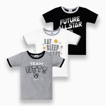 NBA Baby - 3-Piece T-Shirt (Future All Star - Nets) by Cotton Stuff