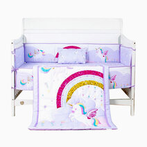 7-Piece Cotton Bedding Set by Juju Nursery