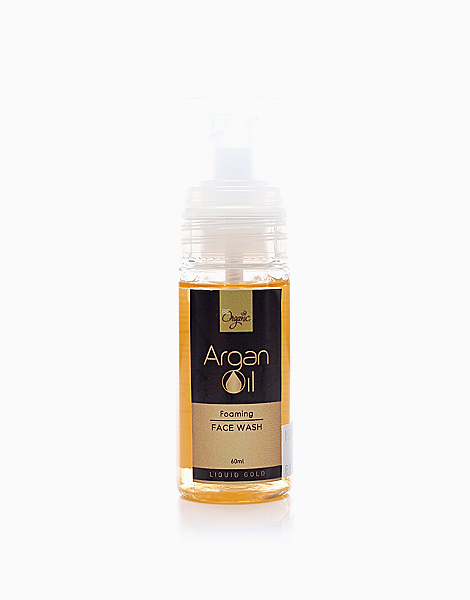 Age-Defying Argan Oil Foaming Face Wash (60mL) by Be Organic Bath & Body