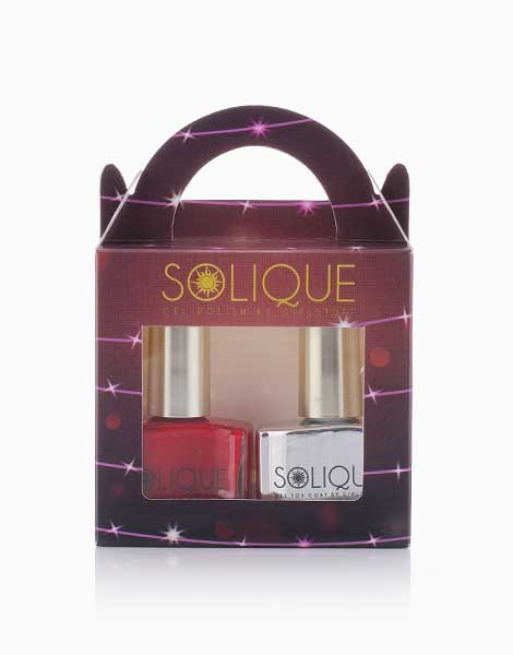 2-in-1 Gift Set: Manila Girl + Gel Top Coat by Solique