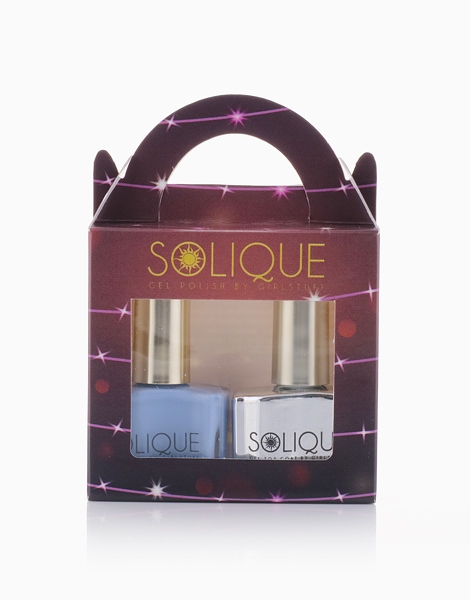 2-in-1 Gift Set: Serenity + Gel Top Coat by Solique