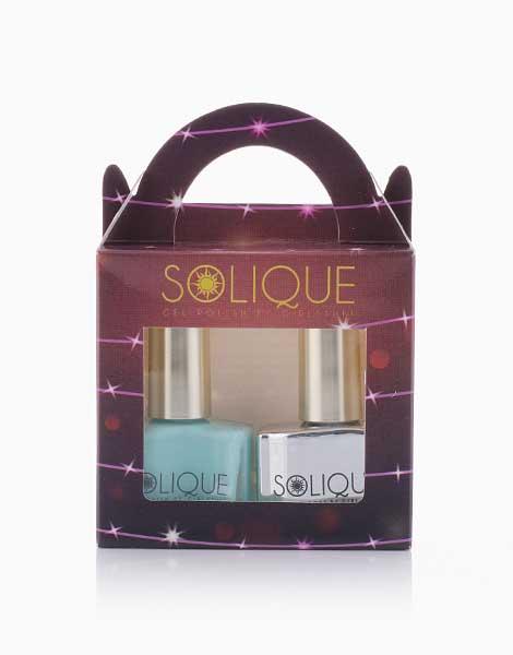 2-in-1 Gift Set: Baby Blues + Gel Top Coat by Solique