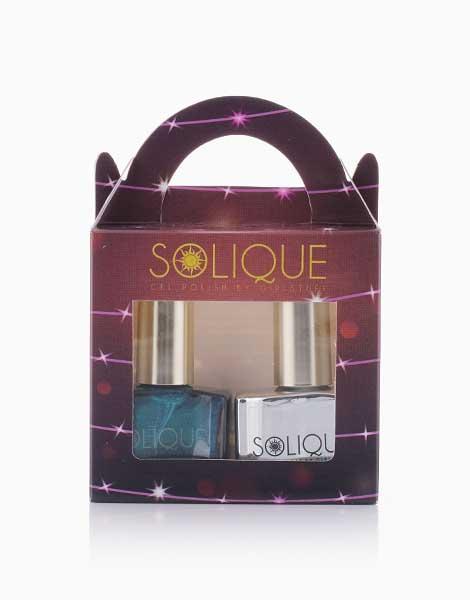 2-in-1 Gift Set: Midnight Dreams + Gel Top Coat by Solique