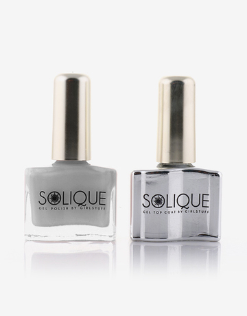 2-in-1 Gift Set: Love Me Like You Do + Gel Top Coat by Solique
