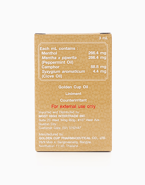 Golden Cup Oil (3ml) by Golden Cup