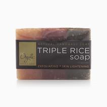Lightening Triple Rice Soap by Be Organic Bath & Body