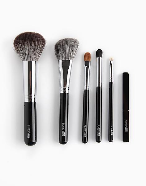 Portable Luxury 6-Piece Makeup Brush Set  by Suesh