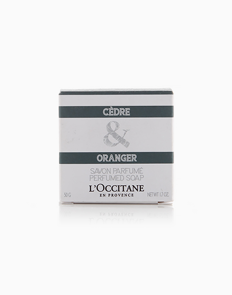 Cedre & Oranger Perfumed Soap by L'Occitane