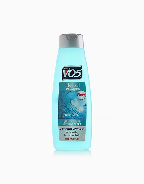 Herbal Escapes Ocean Refresh with Revitalizing Sea Minerals Moisturizing Shampoo by Alberto VO5