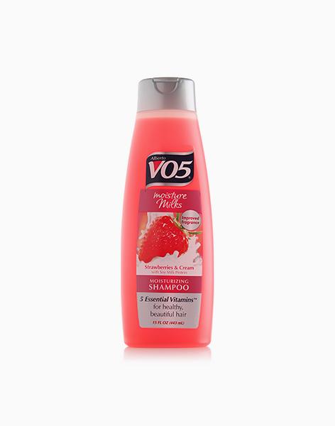 Moisture Milks Strawberries & Cream Moisturizing Shampoo by Alberto VO5