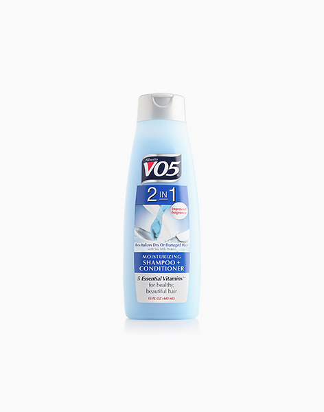 2-in-1 Moisturizing Shampoo + Conditioner by Alberto VO5