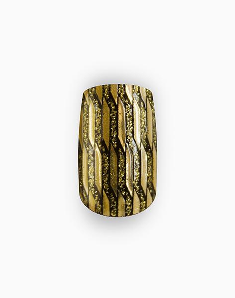 Instant Couture Nail Art: Or Lame by L'Oréal Paris