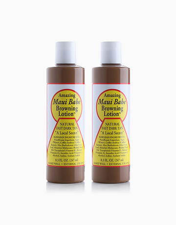 Browning Lotion Duo (8oz) by Maui Babe