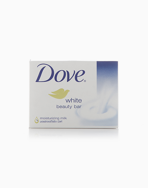 Dove Bar Soap White Beauty (100g) by Dove