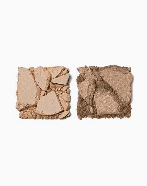 Shade Duette by Pop Beauty | Matte Ivory + Soft Crème