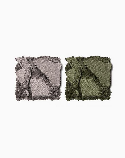 Shade Duette by Pop Beauty | Beige Pewter + Green Moss