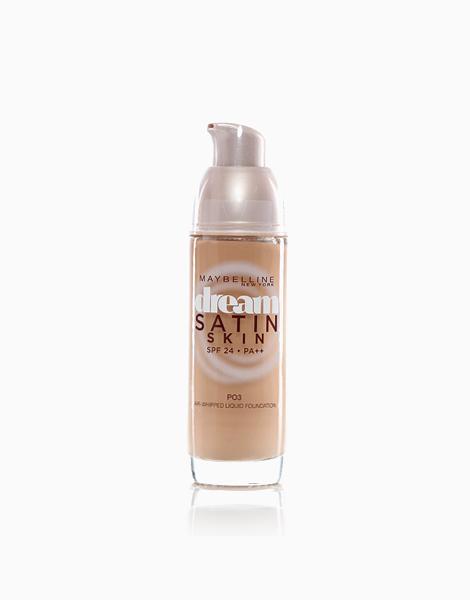 Dream Satin Liquid Foundation by Maybelline   PO3