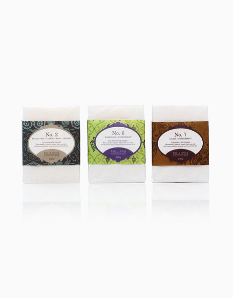 Philippa Luxe Box of 3: Balancing Set (Soap Bars #2, #6, #7) by Philippa