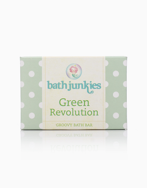 Green Revolution Groovy Bath Bar by Bath Junkies