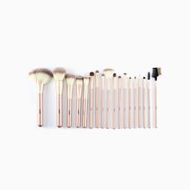 18-Piece Makeup Brush Set by Suesh