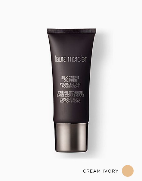 Silk Crème Oil Free Photo Edition Foundation by Laura Mercier Cosmetics | Cream Ivory