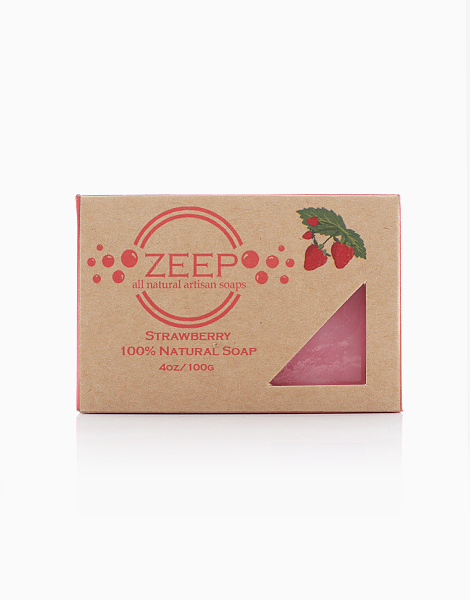Pure Glycerin Soap: Strawberry Seed Oil by The Soap Farm