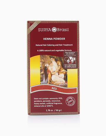 Henna Powder (Red) by Surya Brasil