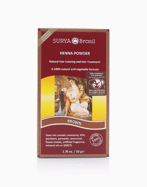 Surya Brasil Henna Powder (Brown) by Surya Brasil