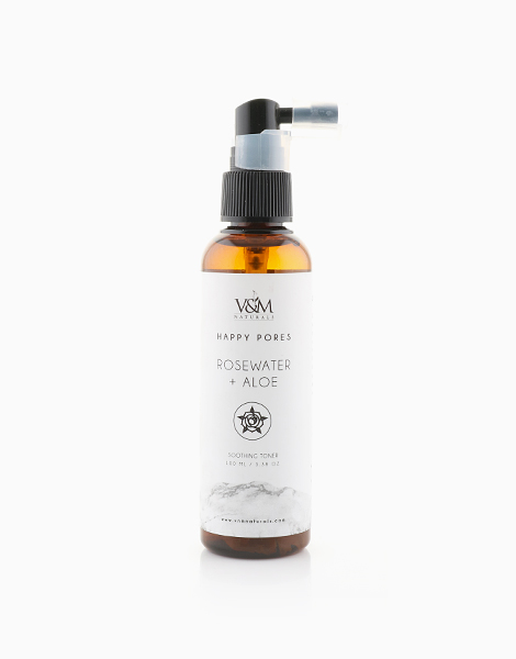 Rosewater + Aloe Soothing Toner by V&M Naturals