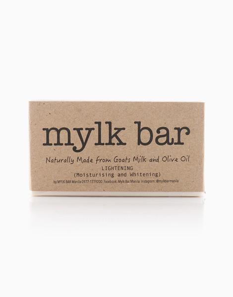 Lightening Mylk Bar Soap with Goat's Milk, Olive Oil, and Glutathione (120g) by Mylk Bar