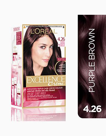 L'Oreal Paris Excellence Creme by L'Oréal Paris | No.4.26 Purple Brown