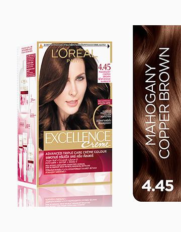 L'Oreal Paris Excellence Creme by L'Oréal Paris | No.4 .45 Mahogany Copper Brown