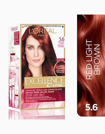 L'Oreal Paris Excellence Creme by L'Oréal Paris | No.5.6 Red Light Brown