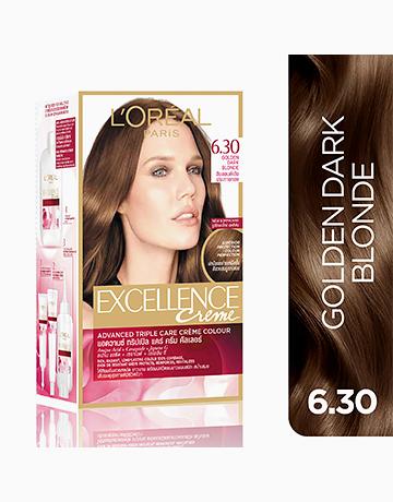 L'Oreal Paris Excellence Creme by L'Oréal Paris | No.6.30 Golden Dark Blonde