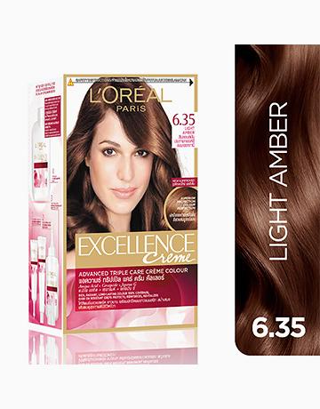 L'Oreal Paris Excellence Creme by L'Oréal Paris | No.6.35 Light Amber