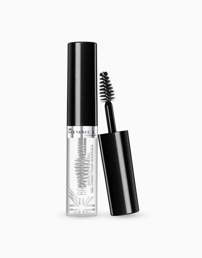 Brow This Way Brow Gel by Rimmel | Clear