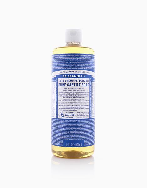 Peppermint Pure Castile Liquid Soap (32oz) by DR. BRONNER'S