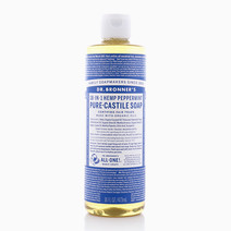 Peppermint Liquid Soap 16oz by DR. BRONNER'S