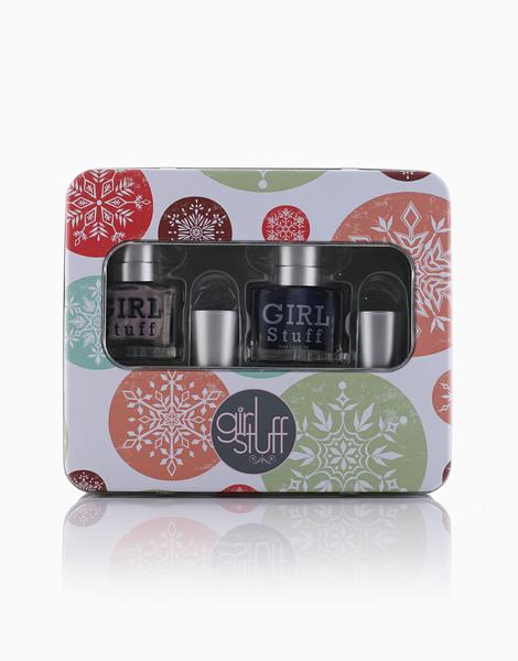GirlStuff Holiday Collection: Temptation, Zenith, Utopia + Top Coat Nail Polish by Girlstuff