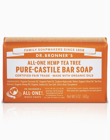 Tea Tree Bar Soap by DR. BRONNER'S