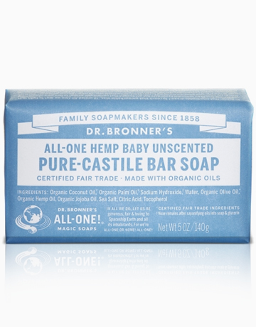 Unscented Bar Soap by DR. BRONNER'S