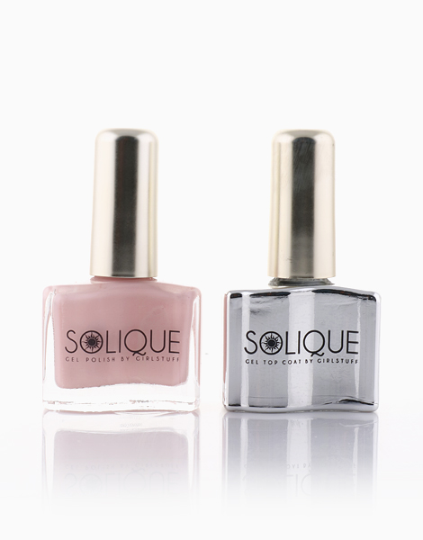 2-in-1 Gift Set: Rose Quartz + Gel Top Coat by Solique
