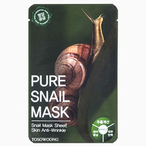 Pure Snail Mask Pack (Dual-Functional in Whitening and Anti-Wrinkle) by Tosowoong